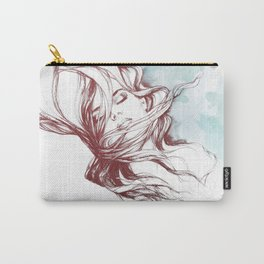 Dreaming about wolves Carry-All Pouch