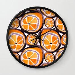 Bunch O' Orange Wall Clock