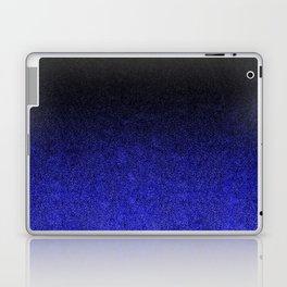 Blue & Black Glitter Gradient Laptop & iPad Skin