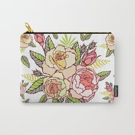 Pink roses. Carry-All Pouch