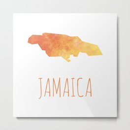 Jamaica Metal Print