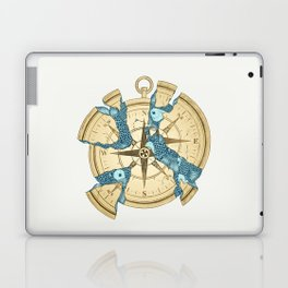 Beneath the Ripples of Existence (There's a Journey Called Life) Laptop & iPad Skin