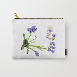 Statice Flower Dissection Carry-All Pouch