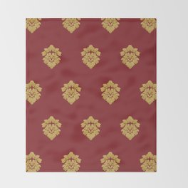 Free Marches (Red) Throw Blanket