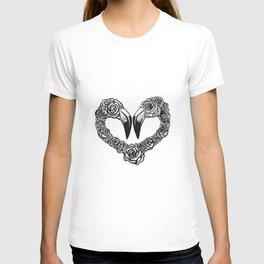 Flamingo Heart T-shirt