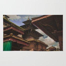 Architecture of Kathmandu City 002 Rug