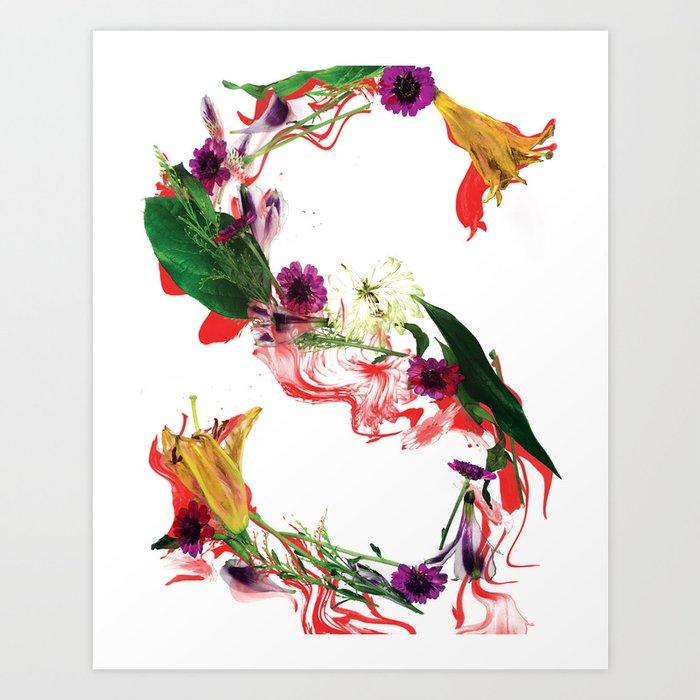 The Letter S Art Print