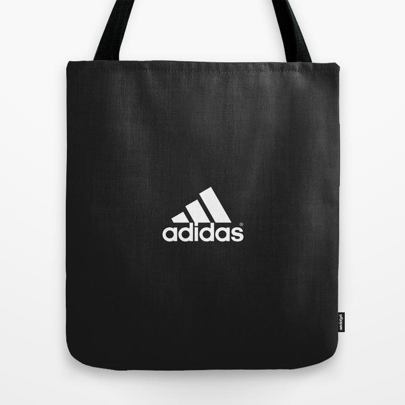 Adidas/stripes Logo Tote Bag by Ludars TBG8929636