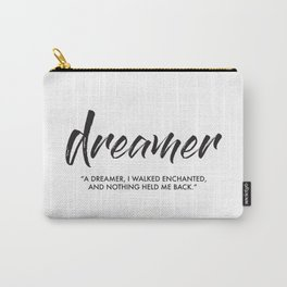 Dreamer Carry-All Pouch