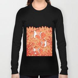 Clown fish - Mandarin Garnet Long Sleeve T-shirt
