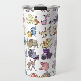 Pokémon - Gotta derp 'em all! - White edition Travel Mug