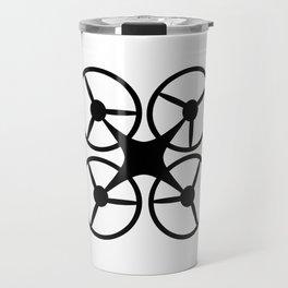 quadcopter logo Travel Mug