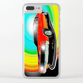 71 Chevelle Clear iPhone Case
