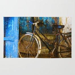 Blue Bicycle Rug