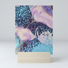 Psychedelic lady II Mini Art Print