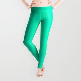 Collection . Neon . Green Leggings