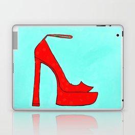 Red Shoe Laptop & iPad Skin