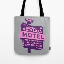 Seeing Stars ... Motel ... (Purple/Pink/Grey) Tote Bag