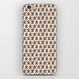 Gingerbread Men iPhone Skin