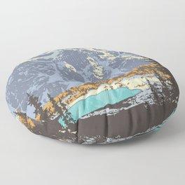 Banff National Park Floor Pillow