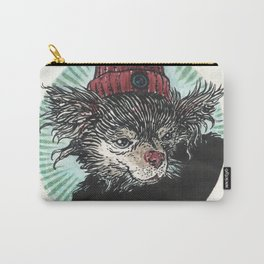 Grunge Chihuahua Carry-All Pouch