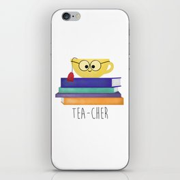 Teacher iPhone Skin