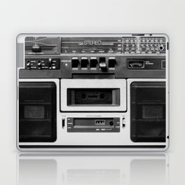 cassette recorder / audio player - 80s radio Laptop & iPad Skin