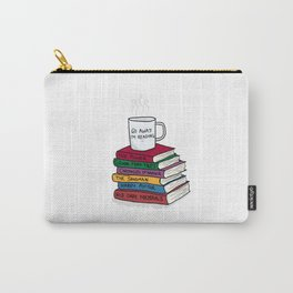 Go away, I'm reading Carry-All Pouch