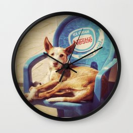 Easy Chair Wall Clock