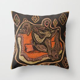 Music from the heart 2 Throw Pillow