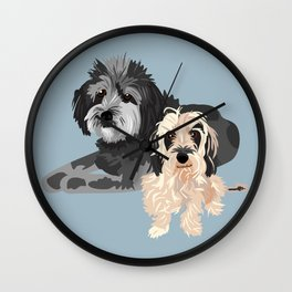 Wally and Junior Wall Clock