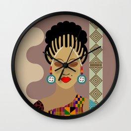 African Queen III Wall Clock