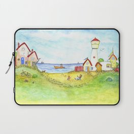 At the seaside Laptop Sleeve
