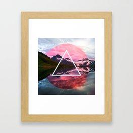 Wanderlust Lake Framed Art Print