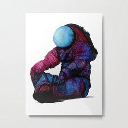space astronaut 2 Metal Print