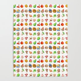 Sprites Posters | Society6