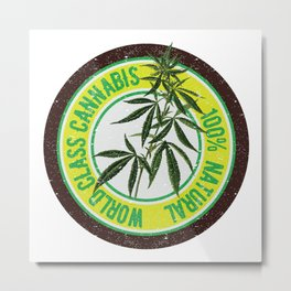 World Class Cannabis Metal Print
