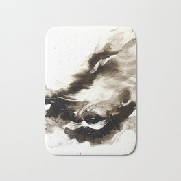 Black + White 2 Bath Mat