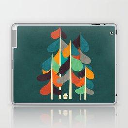 Cabin in the woods Laptop & iPad Skin