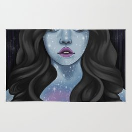 We are made of stars Rug