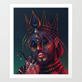 Because Your Love Kept Me Alive and it Made Me Insane Art Print