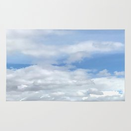 Soft Heavenly Clouds Rug