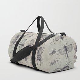 Vintage Beetles And Bugs Duffle Bag