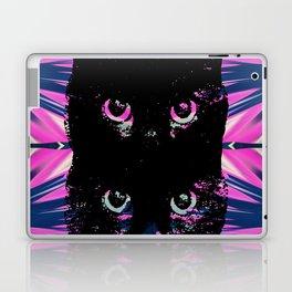 Black Cat Rising Laptop & iPad Skin