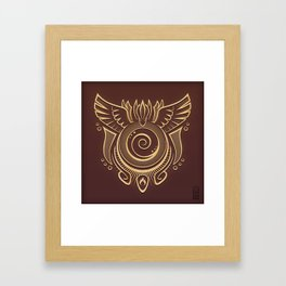 Praise the Helix - Sans Quotes Version Framed Art Print