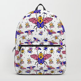 Magic Bugs pattern Backpack