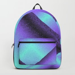 purple and blue mountains Backpack