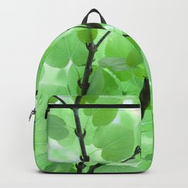Under the Trees in a Summer Rainstorm  #decor #society6 #buyart Backpack