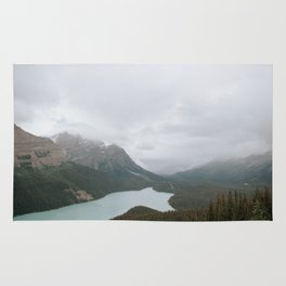 Peyto Lake, Banff National Park Rug