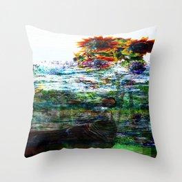 Ode of the Okapi Throw Pillow